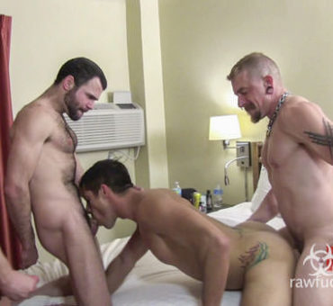 Stimulate Your Sexual Senses as You Watch this Bareback Video from Raw Fuck Club