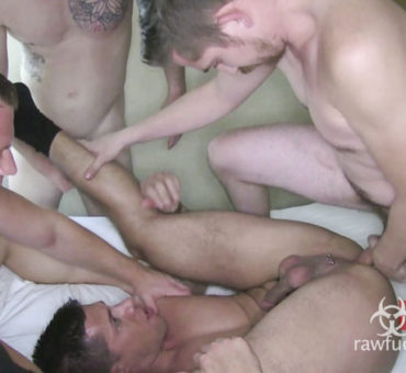 Horny Cum Hungry Stud gets Barebacked and Loaded with Spunk for his Fifth Anniversary