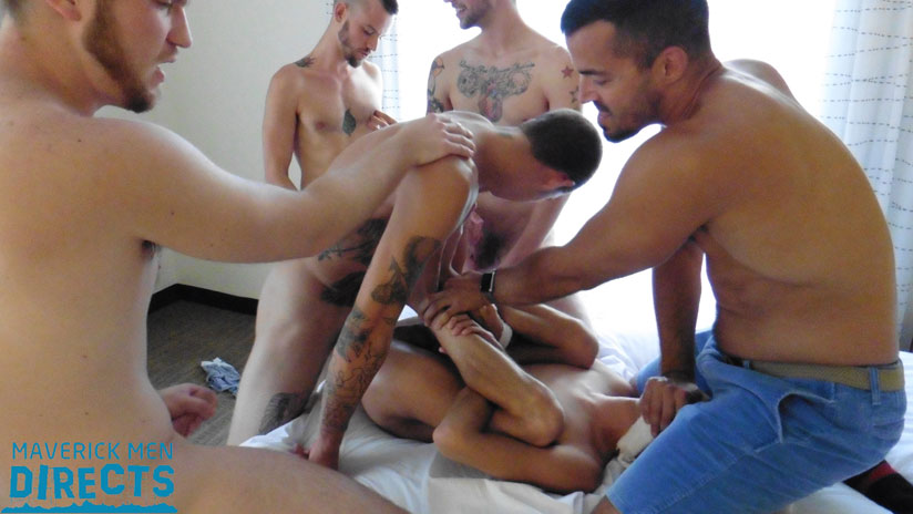 Check Out this Awesome Gang Bang Video at Maverick Men Directs