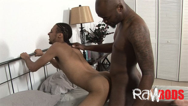 Relaxing in Bed Turns Into an Energetic Bareback Encounter
