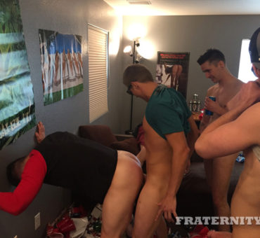 Fresh Faces and a New Messy Pad for the Horny FraternityX College Guys