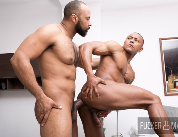 Ray Diesel and Santi Konnor in 'Double Chocolate' at Fuckermate