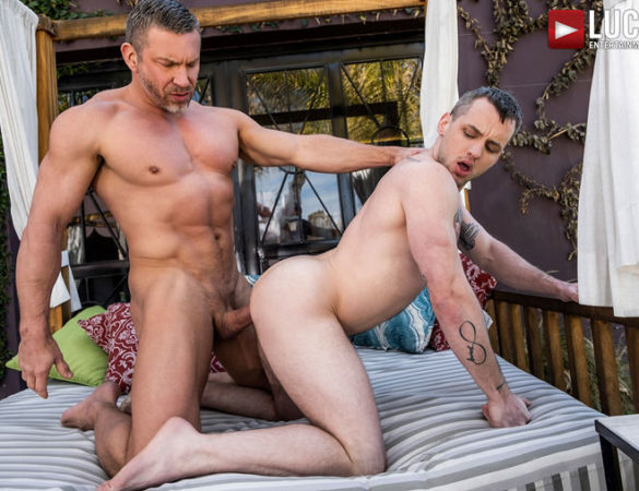 Tomas Brand and Colton Grey Fuck Raw at Lucas Entertainment
