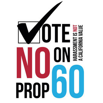 Thank You to California for Voting No to Proposition 60